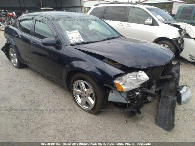 2013 DODGE AVENGER, 25181563 | IAA-Insurance Auto Auctions