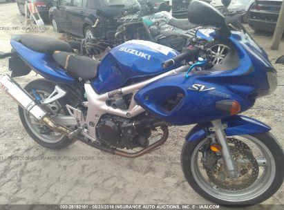2002 SUZUKI SV650 S