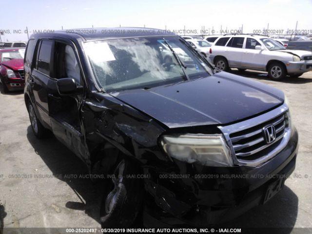 2012 HONDA PILOT, 25202497 | IAA-Insurance Auto Auctions