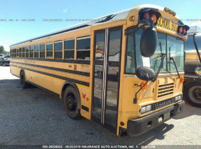 2009 BLUE BIRD SCHOOL BUS / TRAN