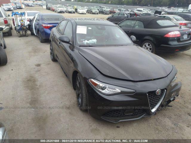 Alfa Auto Insurance >> 2018 Alfa Romeo Giulia 25251688 Iaa Insurance Auto Auctions