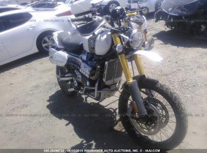 2019 TRIUMPH MOTORCYCLE SCRAMBLER 1200 XE