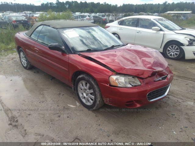 2002 CHRYSLER SEBRING, 25319308 | IAA-Insurance Auto Auctions