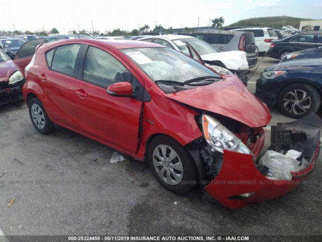 2014 TOYOTA PRIUS C, 25324458 | IAA-Insurance Auto Auctions