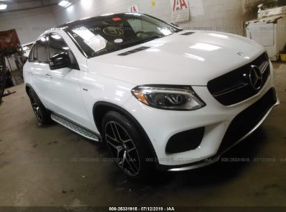 2016 MERCEDES-BENZ GLE COUPE 450 4MATIC