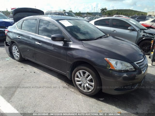 2015 NISSAN SENTRA, 25335945 | IAA-Insurance Auto Auctions