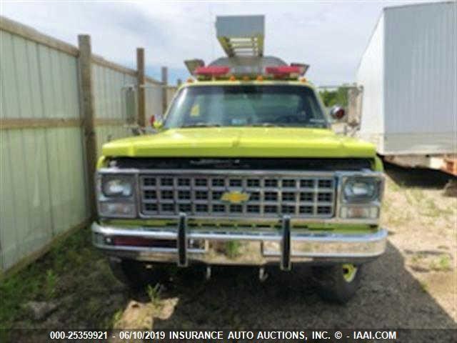 1980 CHEVROLET FIRE TRUCK, 25359921 | IAA-Insurance Auto