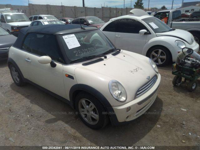 2006 MINI COOPER, 25342041 | IAA-Insurance Auto Auctions