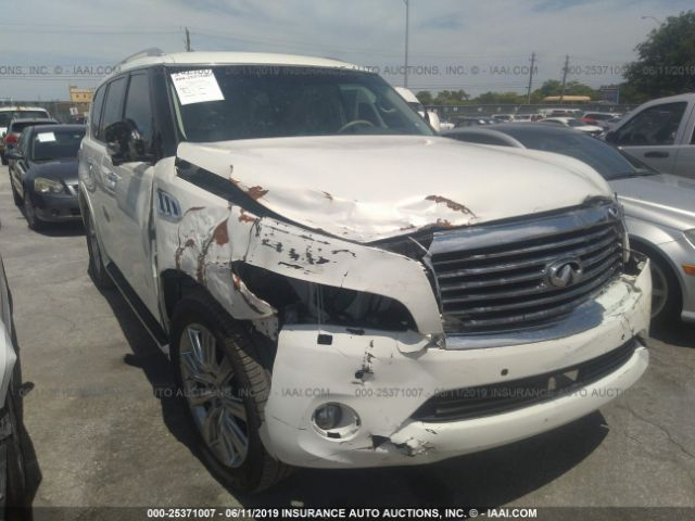 2014 INFINITI QX80, 25371007 | IAA-Insurance Auto Auctions
