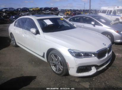 2018 BMW 750 XI