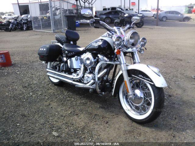 2006 HARLEY-DAVIDSON FLSTN, 25372757   IAA-Insurance Auto Auctions on