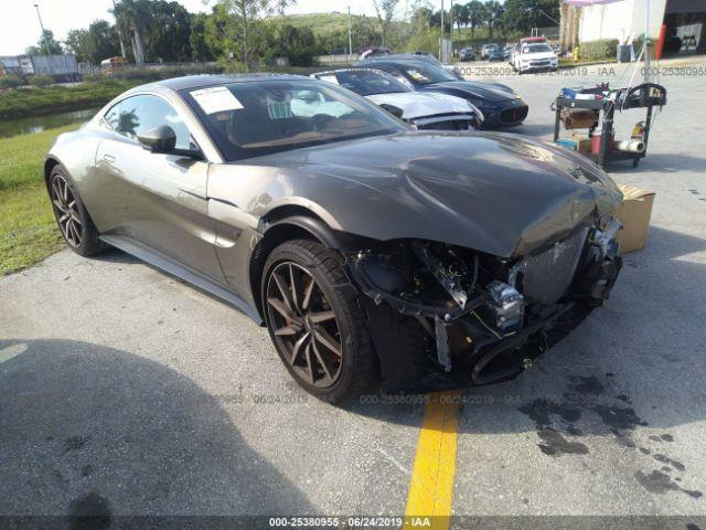 Martins Auto Salvage >> Aston Martin Vantage 2019 Scfsmgaw7kgn00614 Auto Auction Spot