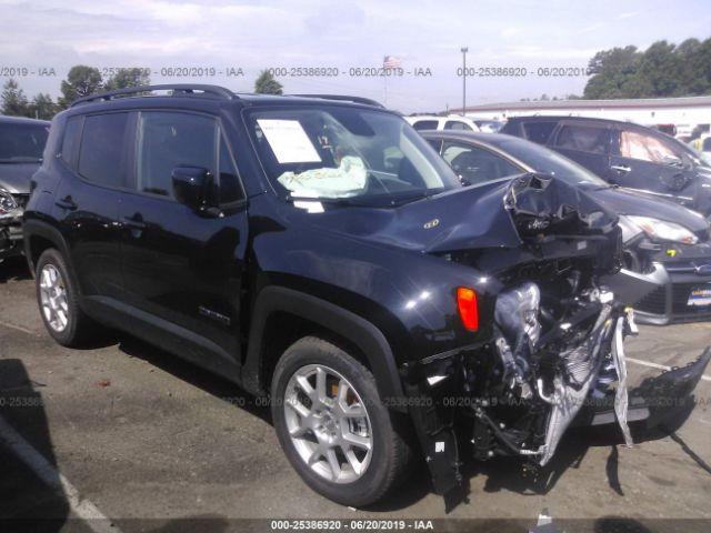 2019 JEEP RENEGADE, 25386920 | IAA-Insurance Auto Auctions
