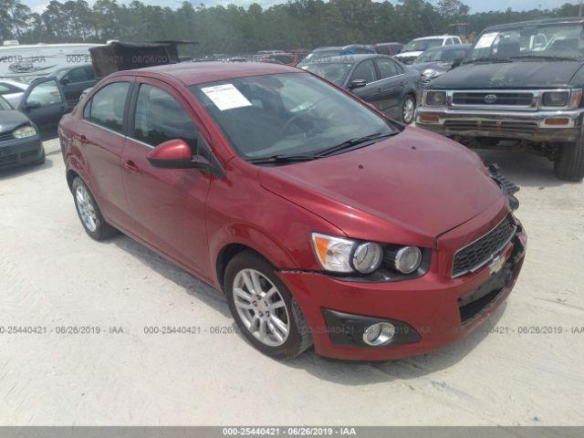 2012 CHEVROLET SONIC, 25440421 | IAA-Insurance Auto Auctions