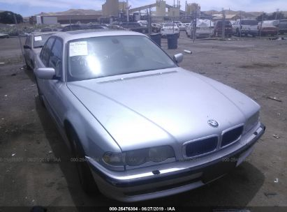 2001 BMW 740 I AUTOMATIC