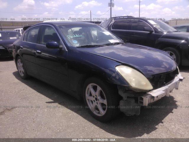 2004 INFINITI G35, 25514392 | IAA-Insurance Auto Auctions