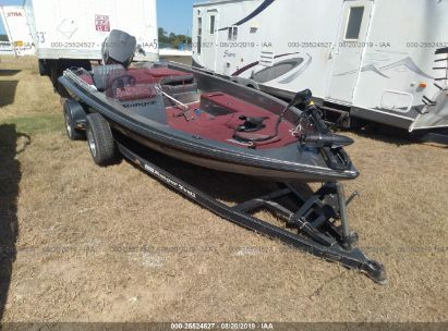1990 BASS BOAT AND TRAILER