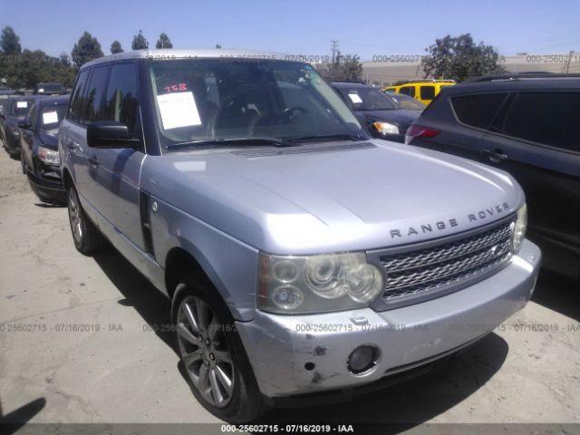 2007 LAND ROVER RANGE ROVER, 25602715 | IAA-Insurance Auto