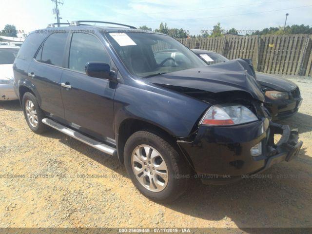 2003 ACURA MDX, 25609445 | IAA-Insurance Auto Auctions