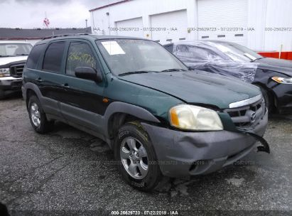 2001 MAZDA TRIBUTE DX
