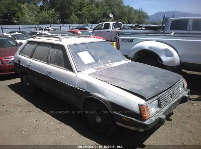 1982 SUBARU DL 4WD