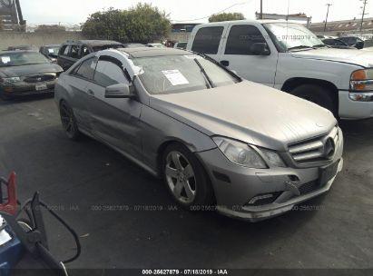 2011 MERCEDES-BENZ E 550