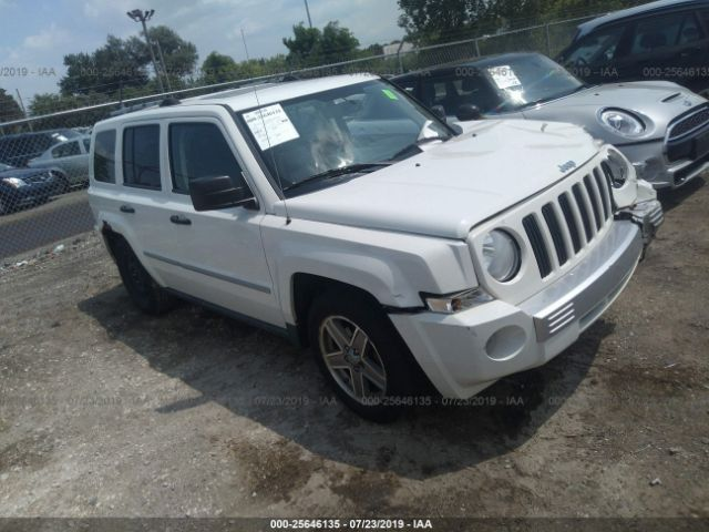 2008 JEEP PATRIOT, 25646135 | IAA-Insurance Auto Auctions