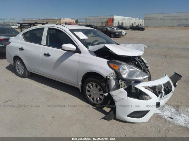 2017 NISSAN VERSA, 25670004 | IAA-Insurance Auto Auctions