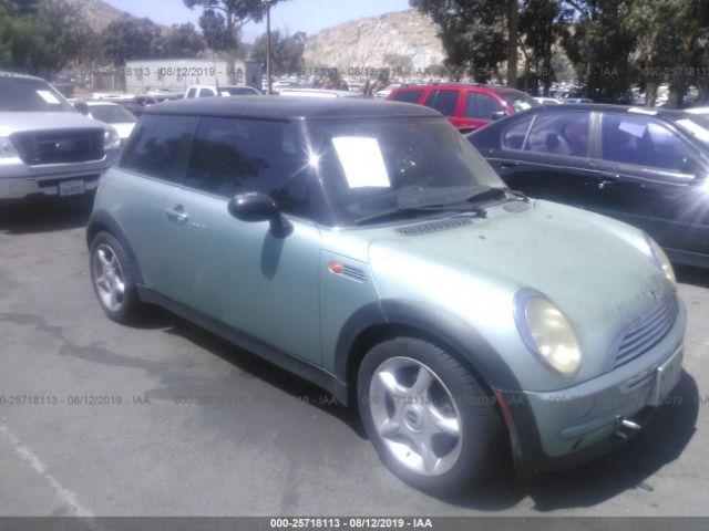 2003 MINI COOPER, 25718113 | IAA-Insurance Auto Auctions