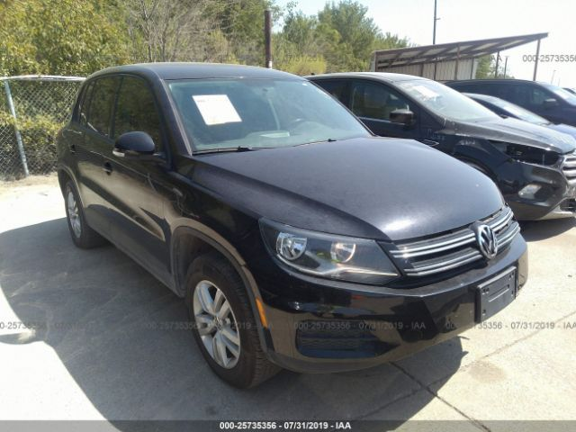 2013 VOLKSWAGEN TIGUAN, 25735356 | IAA-Insurance Auto Auctions