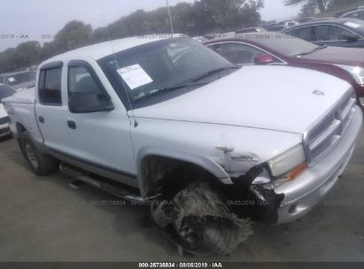 2003 DODGE DAKOTA QUAD SLT