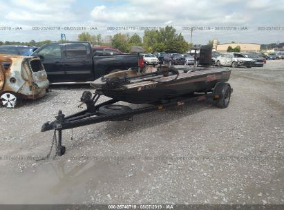 1985 SKEETER BOAT AND TRAILER