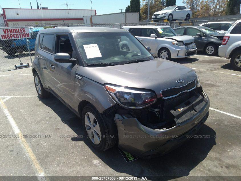2016 Kia Soul 25757503 Iaa Insurance Auto Auctions