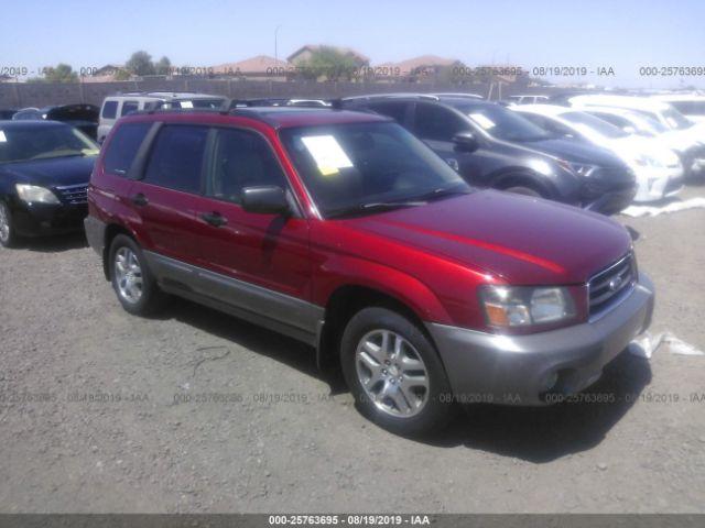 2005 SUBARU FORESTER, 25763695 | IAA-Insurance Auto Auctions