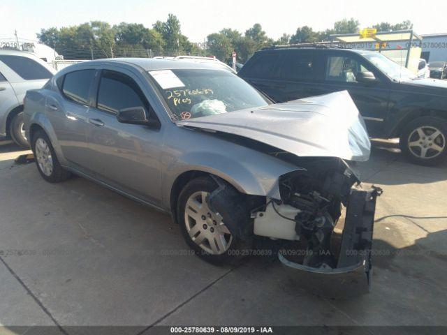 2014 DODGE AVENGER, 25780639 | IAA-Insurance Auto Auctions