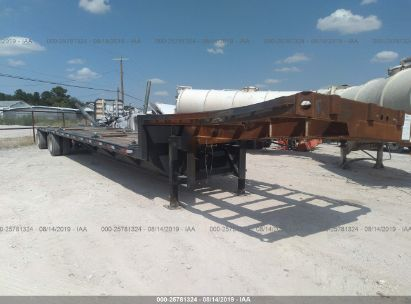 2000 FONTAINE TRAILER CO FLATBED