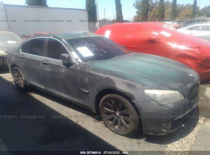 2009 BMW 750 I