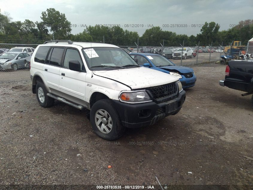2003 Mitsubishi Montero 25783535 Iaa Insurance Auto Auctions