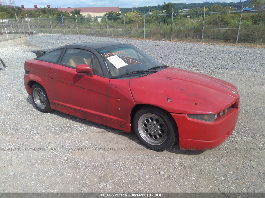 Alfa Auto Insurance >> 1991 Alfa Sz Zagato 25812115 Iaa Insurance Auto Auctions