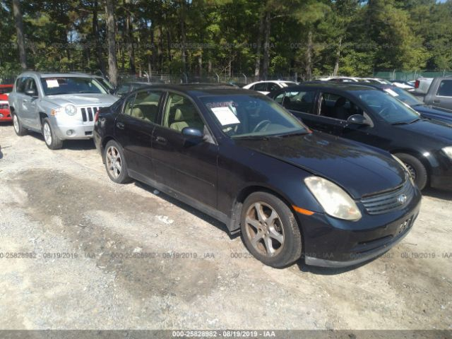 2004 INFINITI G35, 25828982 | IAA-Insurance Auto Auctions