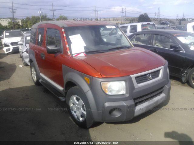 2004 HONDA ELEMENT, 25857743   IAA-Insurance Auto Auctions