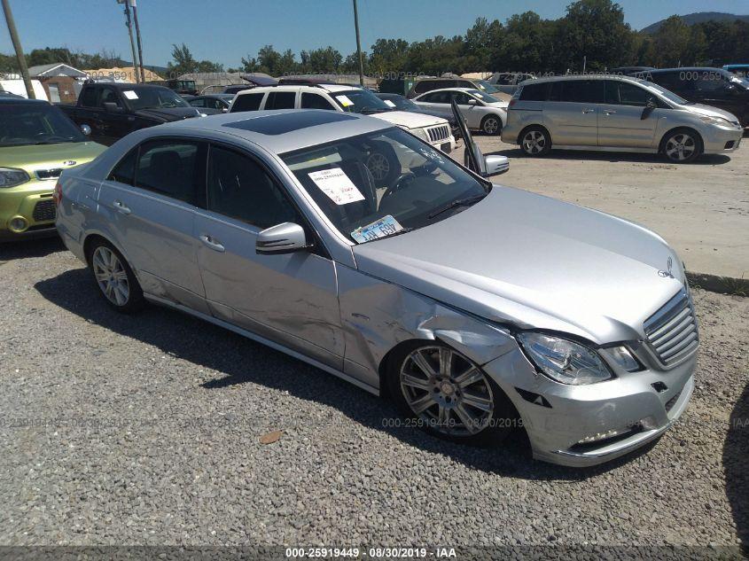 2012 Mercedes-benz E 3.5. Lot 11133421810 Vin WDDHF8JB6CA614328