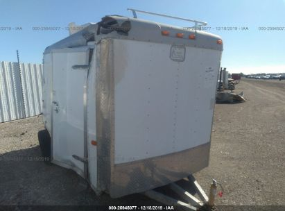 2008 CARGO CRAFT 12 FT TRAILER