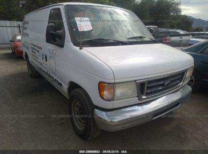 2004 FORD ECONOLINE E150 VAN
