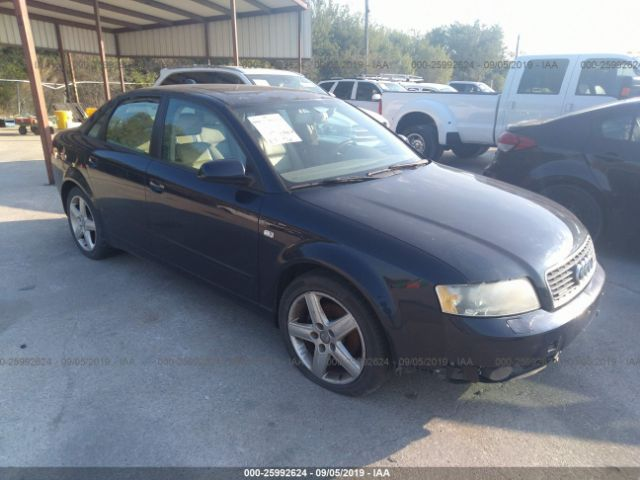 2004 AUDI A4, 25992624 | IAA-Insurance Auto Auctions