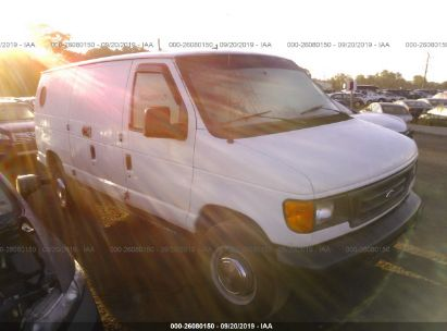 2006 FORD ECONOLINE E350 SUPER DUTY VAN