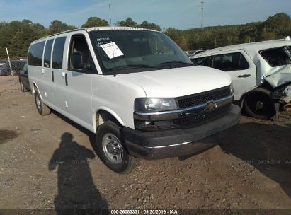 2014 CHEVROLET EXPRESS G3500 LT