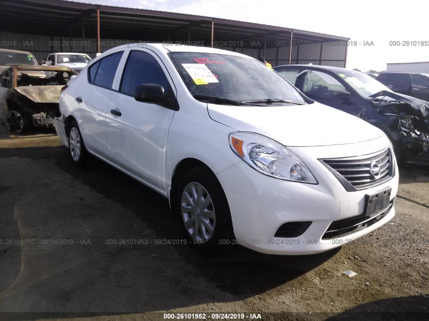 2014 NISSAN VERSA, 26101952 | IAA-Insurance Auto Auctions on