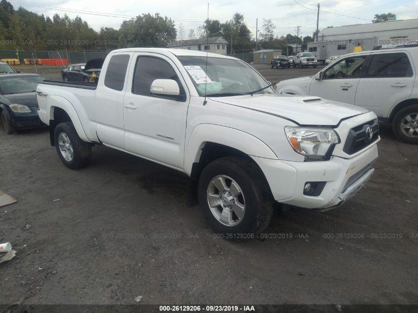 Tacoma Access Cab >> 2015 Toyota Tacoma 26129206 Iaa Insurance Auto Auctions