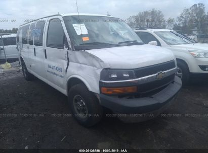2015 CHEVROLET EXPRESS G3500 LT